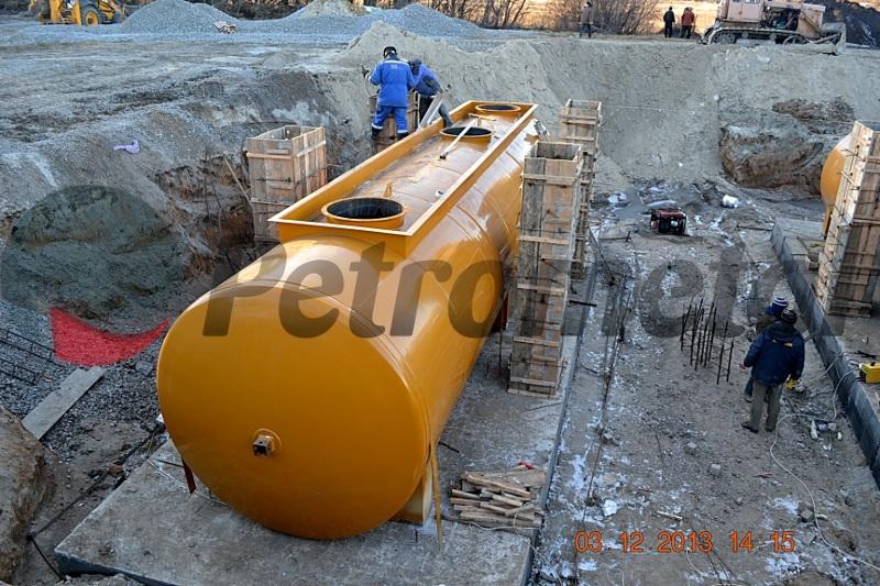 Резервуара водонапорной подземного охранная и зона